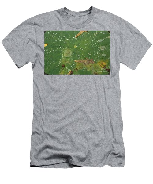 Hawaiian Lilly Pad 2 Men's T-Shirt (Athletic Fit)