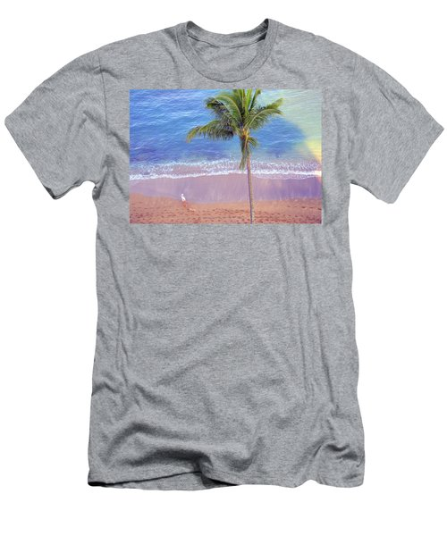 Men's T-Shirt (Slim Fit) featuring the photograph Hawaiian Morning by Kathy Bassett