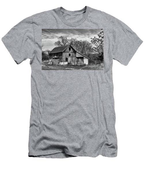Hay Storage Men's T-Shirt (Slim Fit) by Nicki McManus