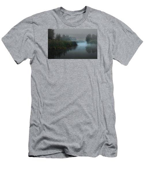 Haynes Ranch Predawn II Men's T-Shirt (Slim Fit) by John Poon