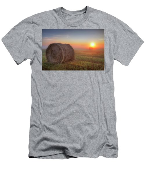 Men's T-Shirt (Slim Fit) featuring the photograph Hayrise by Dan Jurak