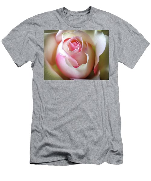 Men's T-Shirt (Slim Fit) featuring the photograph He Loves Me Still by Karen Wiles
