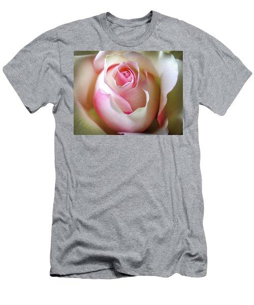 He Loves Me Still Men's T-Shirt (Slim Fit) by Karen Wiles