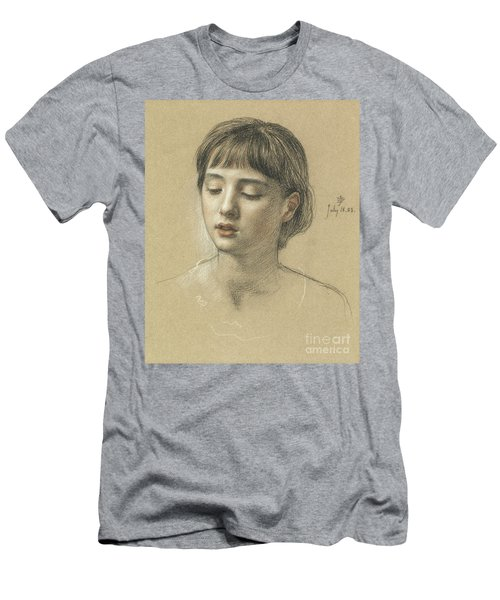 Head Of A Girl, 1883 Men's T-Shirt (Athletic Fit)