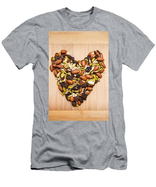 Heart Healthy Snacks Men's T-Shirt (Athletic Fit)