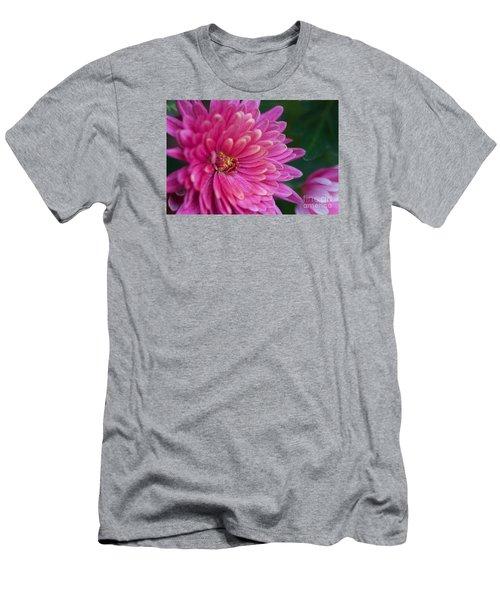 Heart Of A Mum Men's T-Shirt (Slim Fit) by Jim Gillen