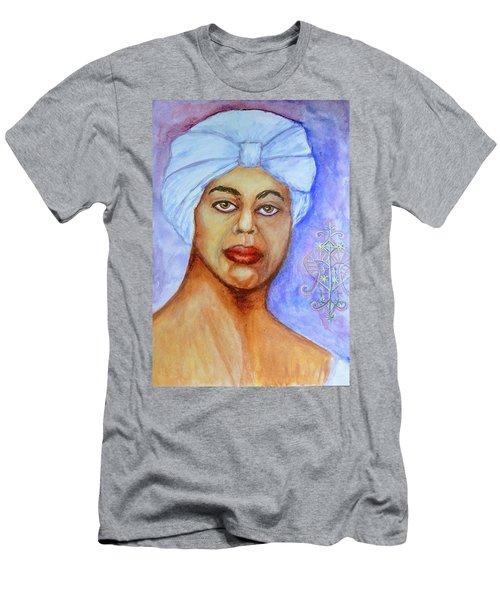 Heart Of Love  Marie Laveau Men's T-Shirt (Athletic Fit)