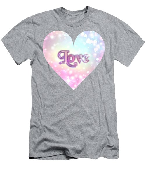 Heart Of Love Men's T-Shirt (Athletic Fit)