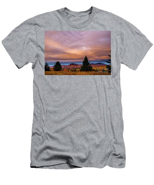 Heart Opeing In The Sky Men's T-Shirt (Athletic Fit)