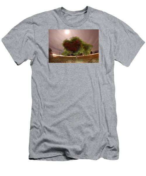 Heart Tree Scene Men's T-Shirt (Athletic Fit)