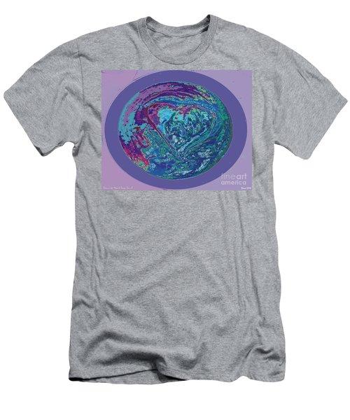 Heart Universe  Men's T-Shirt (Athletic Fit)