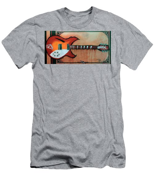 Heartbreaking 12 String Men's T-Shirt (Athletic Fit)
