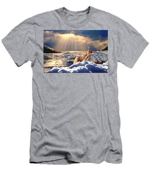 Heavenly Ascension Men's T-Shirt (Athletic Fit)