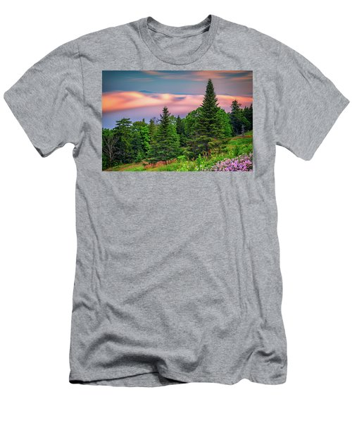 Men's T-Shirt (Athletic Fit) featuring the photograph Height Of Land by Rick Berk