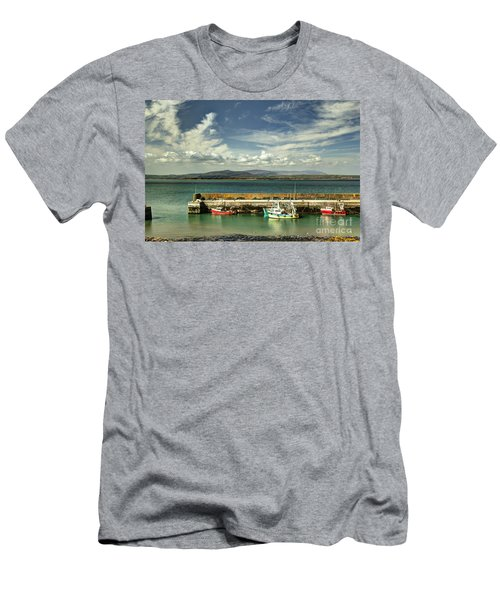 Helvick Harbour Men's T-Shirt (Athletic Fit)