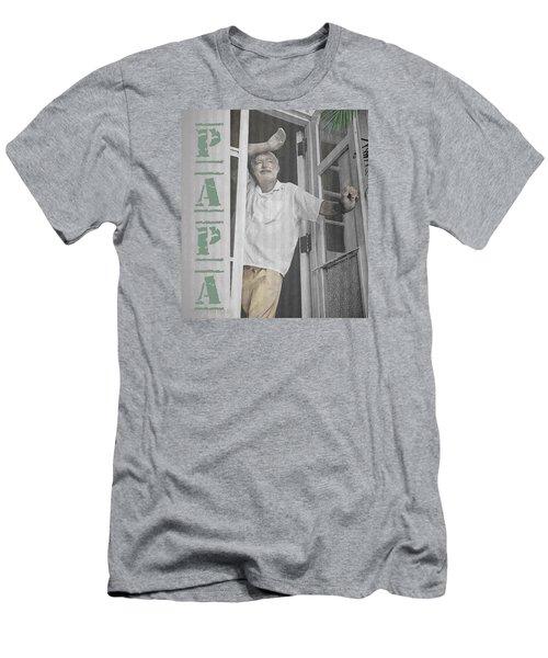 Hemingway In Cuba Men's T-Shirt (Athletic Fit)