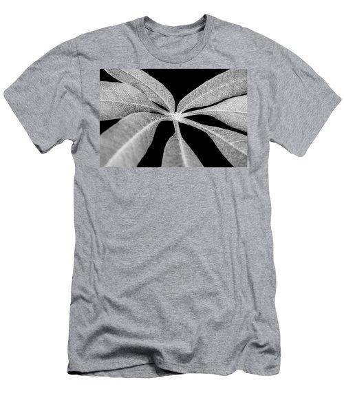 Hemp Tree Leaf Men's T-Shirt (Athletic Fit)