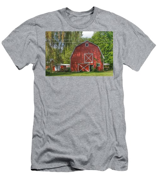 0018 - Henderson Road Red I Men's T-Shirt (Athletic Fit)