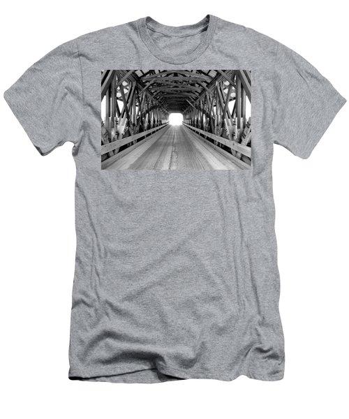 Henniker Covered Bridge Men's T-Shirt (Athletic Fit)