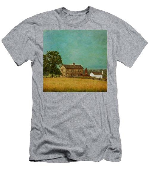 Henry House At Manassas Battlefield Park Men's T-Shirt (Athletic Fit)