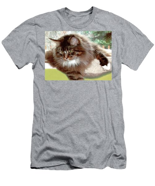 Men's T-Shirt (Athletic Fit) featuring the photograph Hercules The Beautiful. by Roger Bester