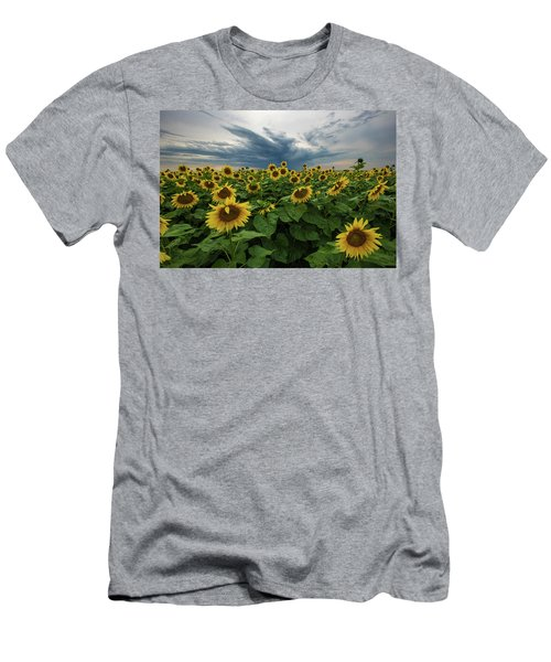 Here Comes The Sun Men's T-Shirt (Slim Fit) by Aaron J Groen
