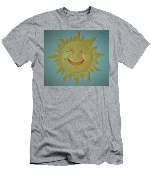 Here Comes The Sun Men's T-Shirt (Athletic Fit)