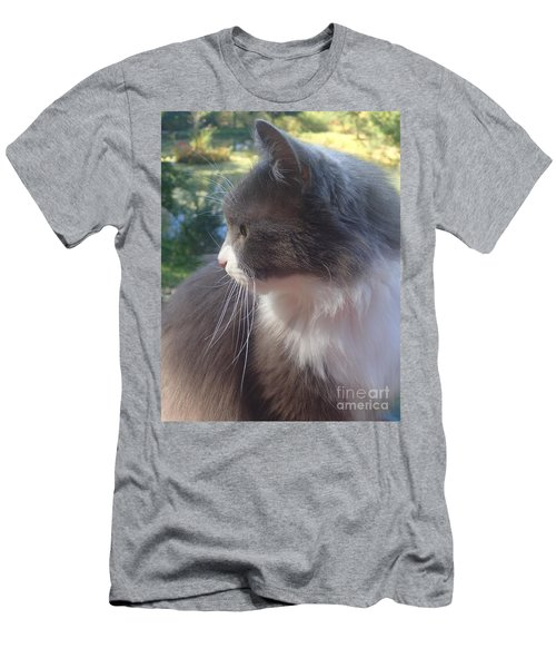 Here Kitty Men's T-Shirt (Athletic Fit)