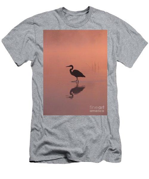 Heron Collection 1 Men's T-Shirt (Slim Fit) by Melissa Stoudt