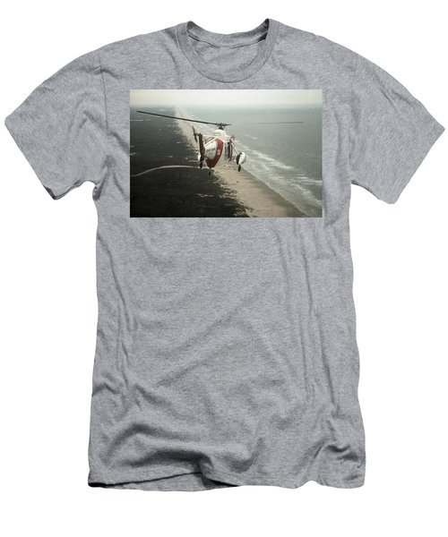 Hh-52a Beach Patrol Men's T-Shirt (Athletic Fit)