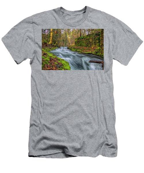 Hidden Creek Men's T-Shirt (Athletic Fit)