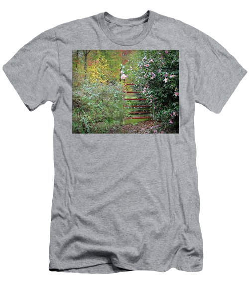 Hidden Gate Men's T-Shirt (Slim Fit) by Bellesouth Studio