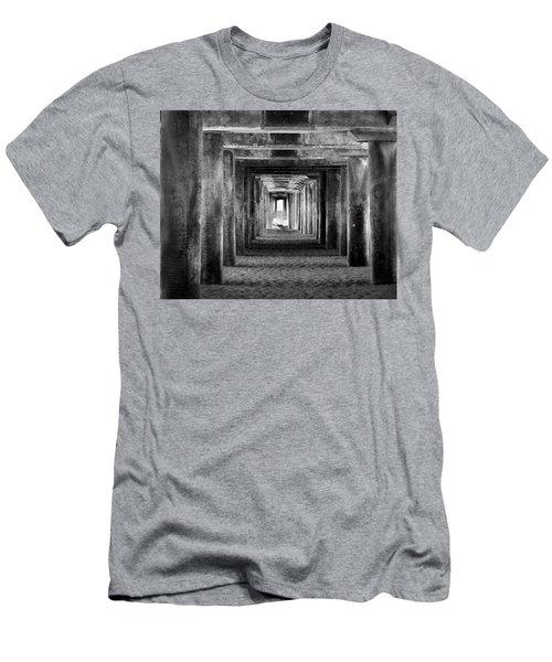 Hidden Illusions 2 Bw Men's T-Shirt (Athletic Fit)