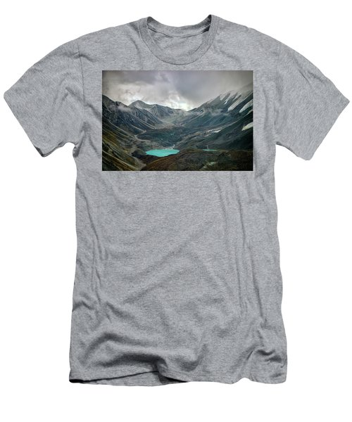 Men's T-Shirt (Athletic Fit) featuring the photograph Hidden In Denali by Rick Berk