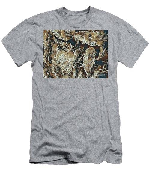 Hidden In Plain Sight Men's T-Shirt (Slim Fit) by Kathie Chicoine