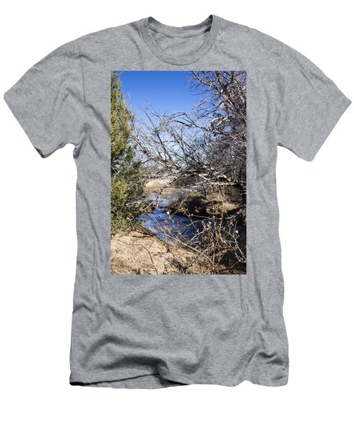 Hidden Swimming Hole Men's T-Shirt (Slim Fit) by Ricky Dean