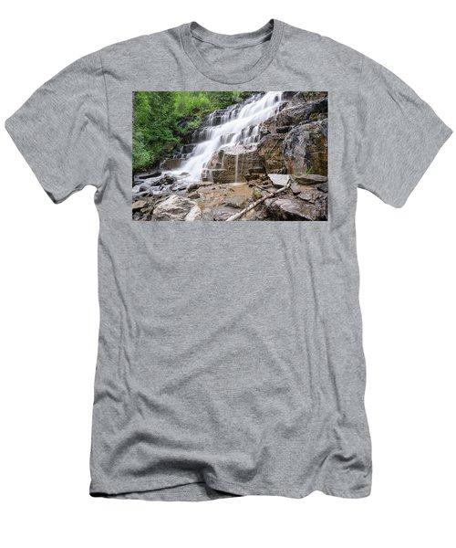 Hidden Waterfalls Men's T-Shirt (Athletic Fit)