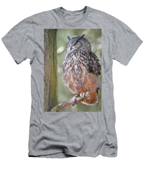 Hiding In The Trees Men's T-Shirt (Athletic Fit)