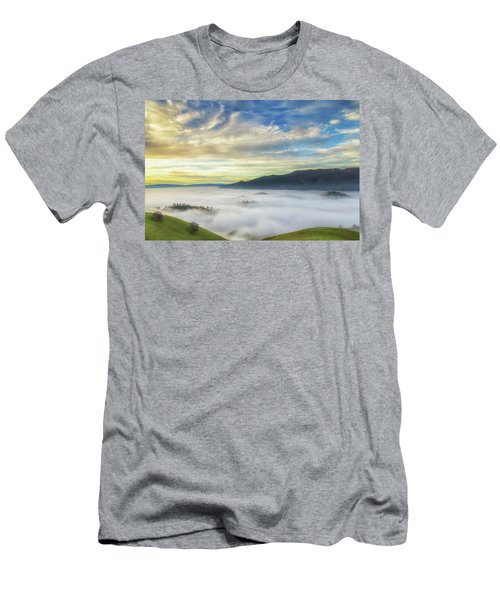 High Clouds Above Fog Men's T-Shirt (Athletic Fit)