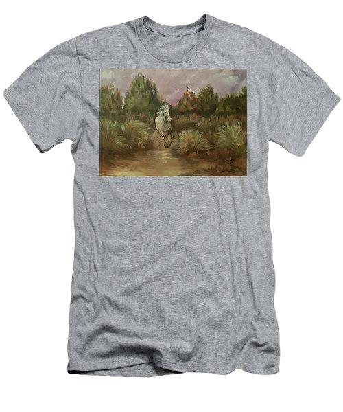 High Desert Runner Men's T-Shirt (Athletic Fit)