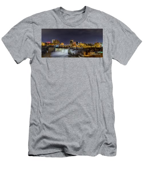 High Falls At Night Men's T-Shirt (Athletic Fit)