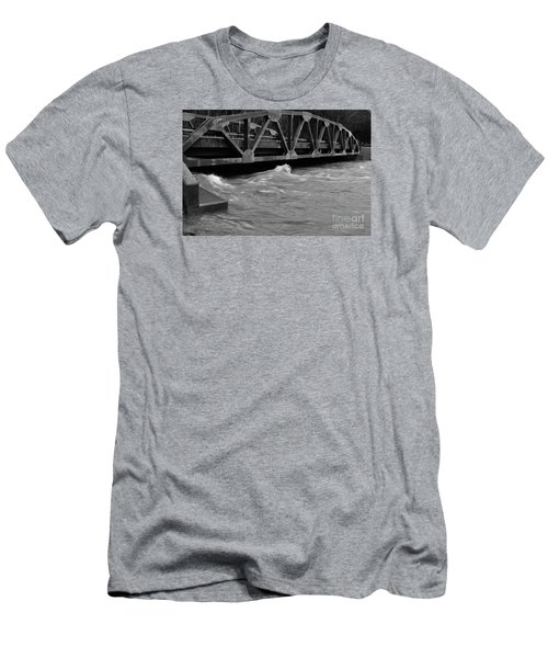 High Water Men's T-Shirt (Slim Fit) by Randy Bodkins