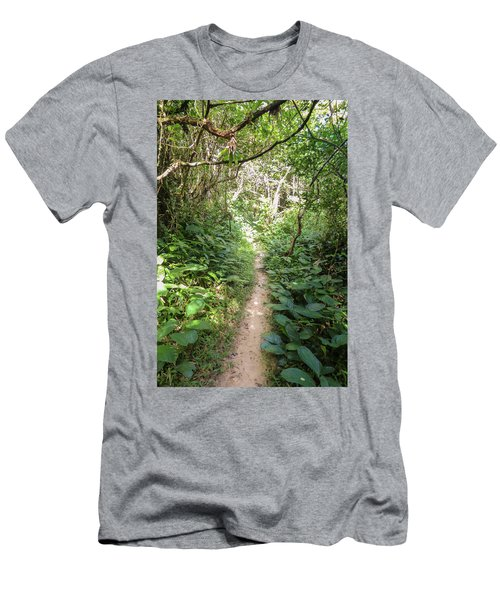 Hiking Path In The Atlantic Forest Men's T-Shirt (Athletic Fit)