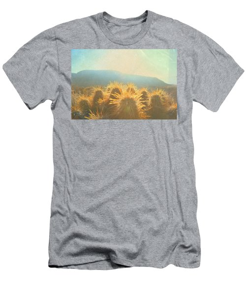 Men's T-Shirt (Slim Fit) featuring the photograph Hill Top Sunset  by Mark Ross