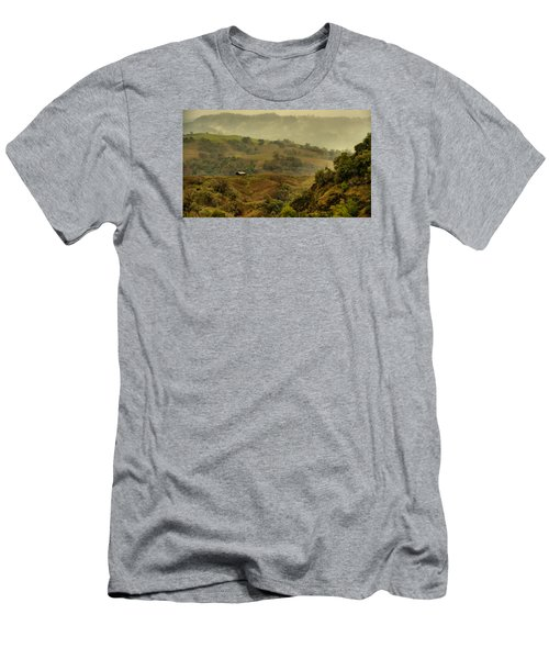 Hills Above Anderson Valley Men's T-Shirt (Athletic Fit)