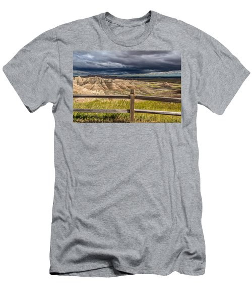 Hills Behind The Fence Men's T-Shirt (Athletic Fit)