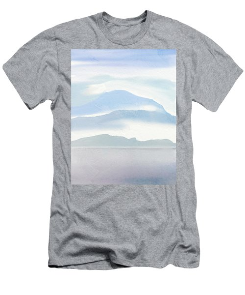 Hills In Borneo Men's T-Shirt (Athletic Fit)