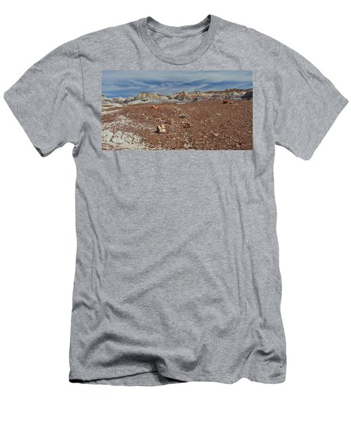 Men's T-Shirt (Slim Fit) featuring the photograph Hillside Hues by Gary Kaylor