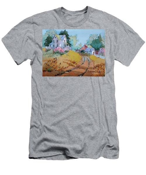 Hilltop Homestead Men's T-Shirt (Athletic Fit)