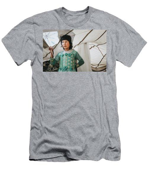 Himalayan Girl Men's T-Shirt (Athletic Fit)